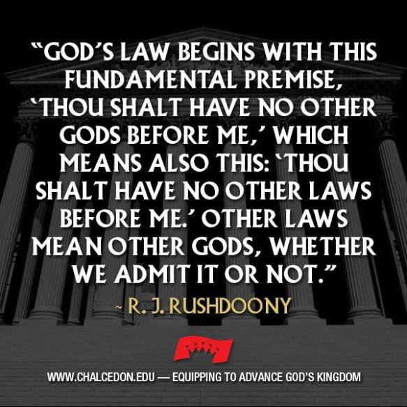 No Other Law, No Other God