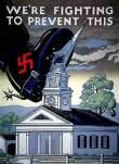 nazi boot on church